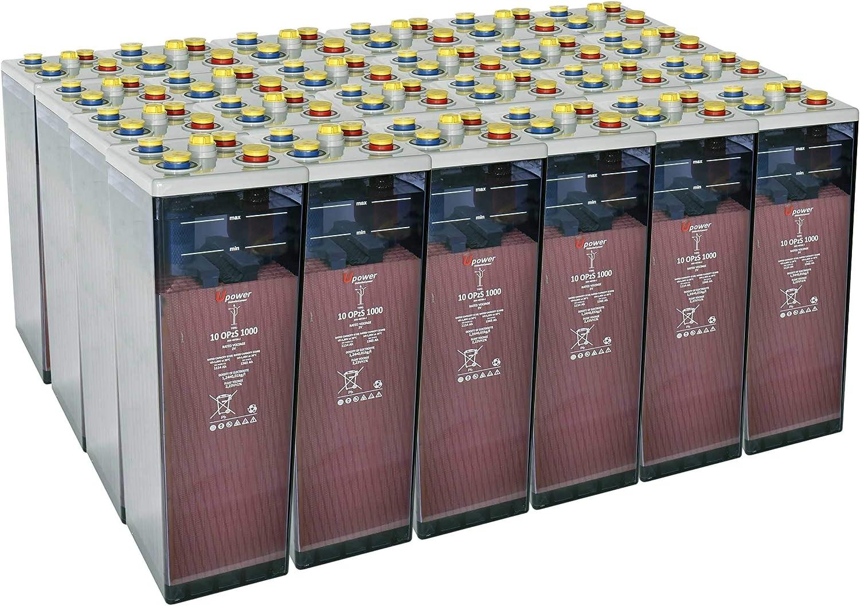 Bateria Solar, 10 OPZS 1000 48V Mas de 20 años de Vida