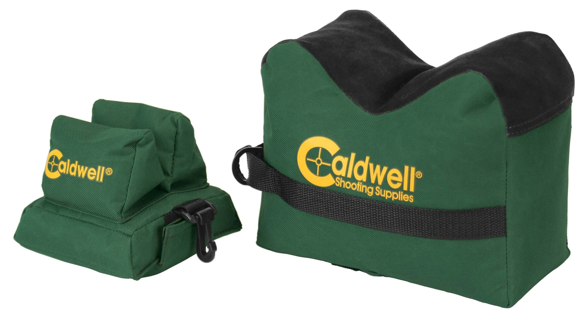 Caldwell DeadShot Boxed Combo (Front & Rear Bag) - Unfilled by Caldwell