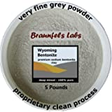 5 Pounds - 100% Pure Bentonite Clay