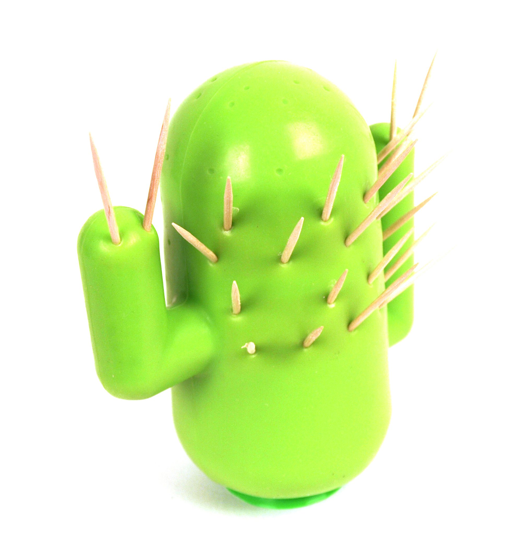 ''Cactooph'' Novelty Cactus-Shaped Toothpick Holder Party Accessory by MUS