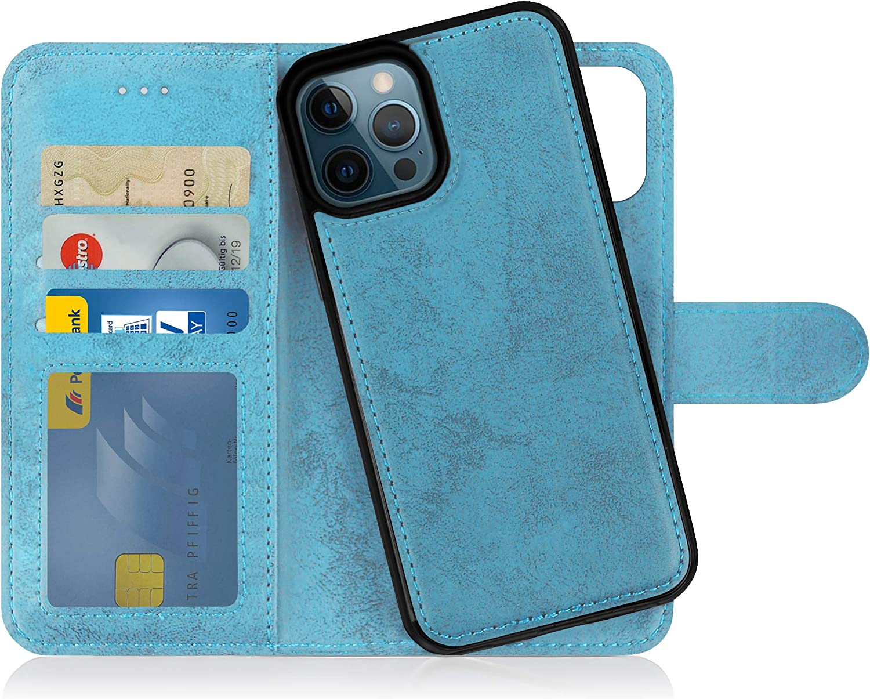 Mygadget Flip Case Handyhülle Für Iphone 12 Pro Max Elektronik