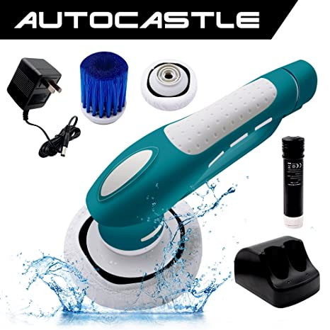 Amazoncom Household Electric Power ScrubberCordless Tub Shower - Battery powered shower scrubber