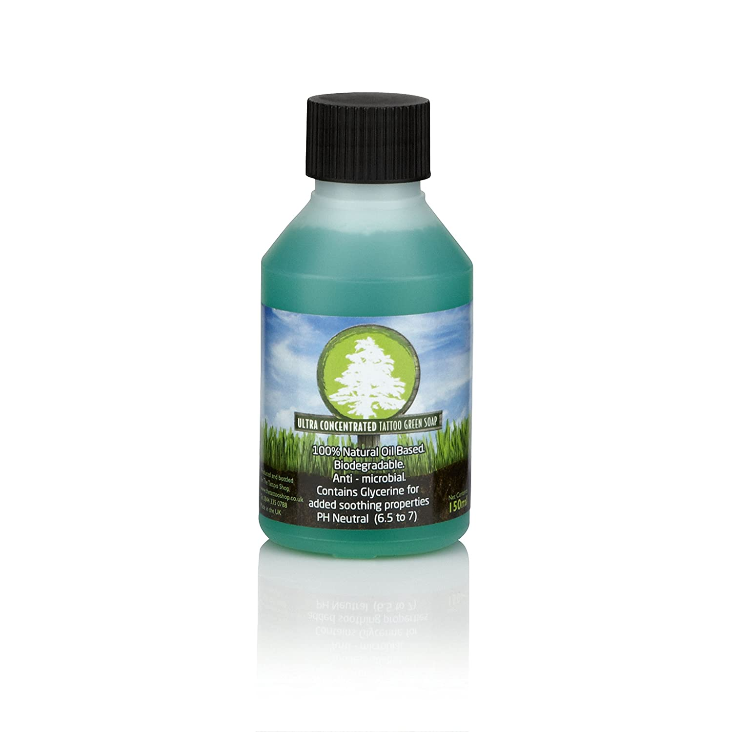 Tek15 Concentrated Tattoo Green Soap - 4oz (150ml)