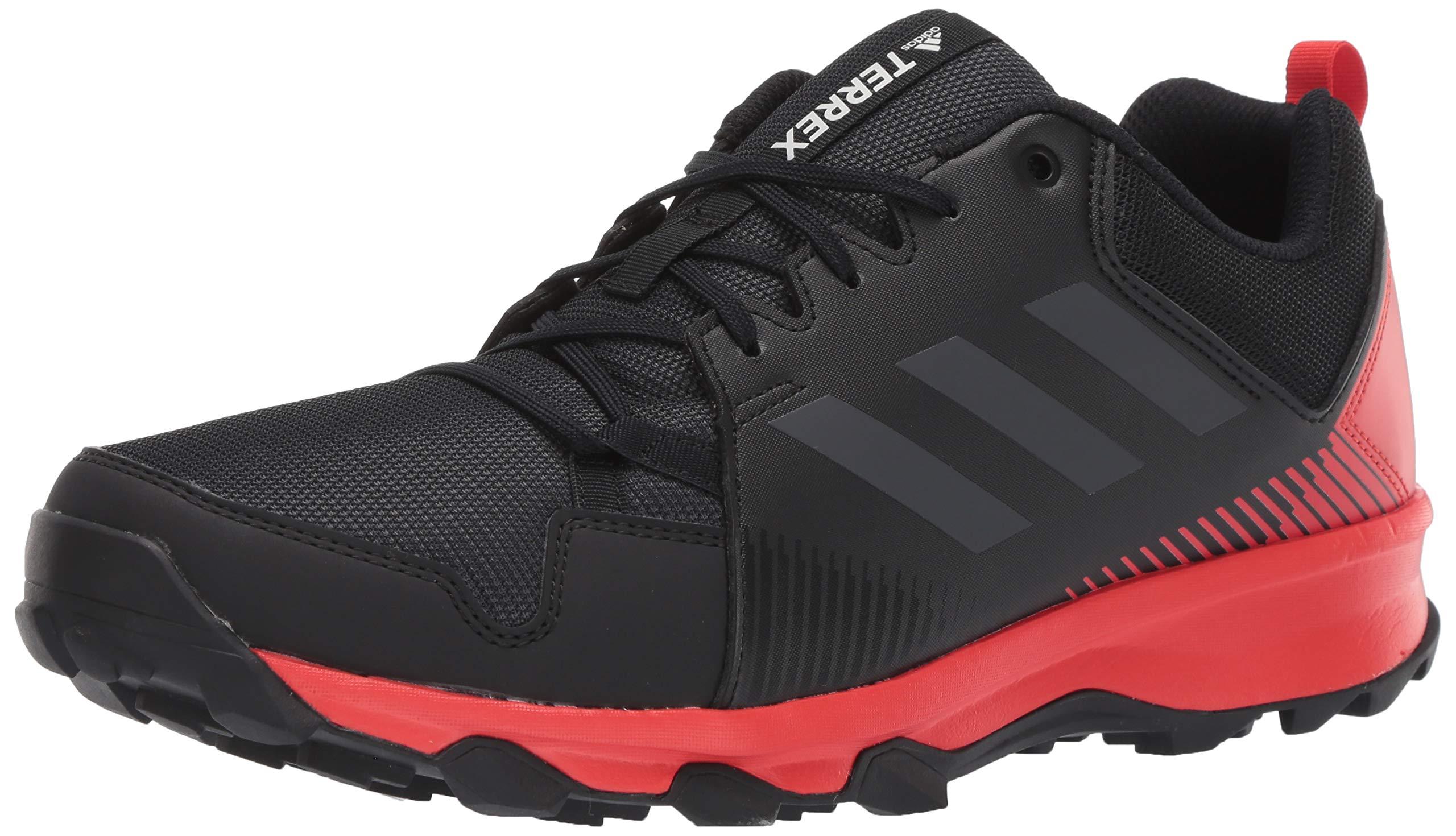 adidas outdoor Men's Terrex Tracerocker Athletic Shoe, Black/Carbon/Active RED, 10.5 D US by adidas outdoor