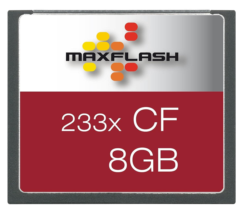 Maxflash - Tarjeta de memoria Compact Flash (CF) 8 GB