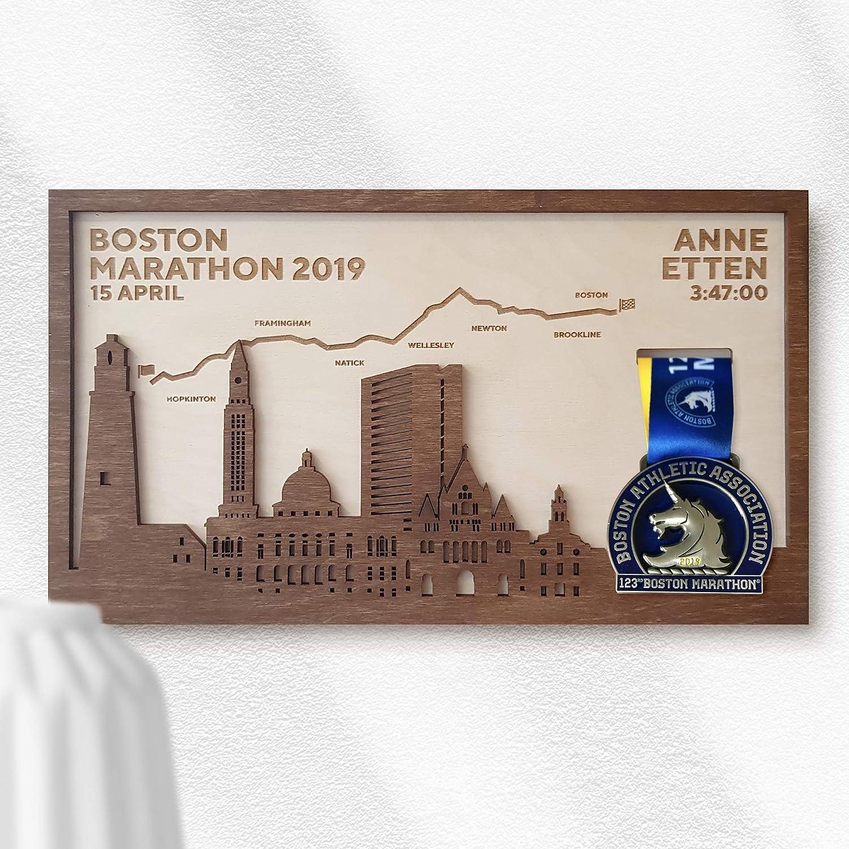Boston Marathon Medal Frame