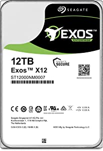 (Old Model) Seagate Exos 12TB Internal Hard Drive Enterprise HDD – 3.5 Inch 6Gb/s 7200 RPM 128MB Cache for Enterprise, Data Center – Frustration Free Packaging