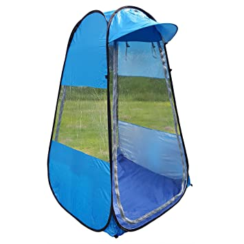 One Person Upright Shelter Chair Tent for Sporting Events  sc 1 st  Amazon.com & Amazon.com: One Person Upright Shelter Chair Tent for Sporting ...