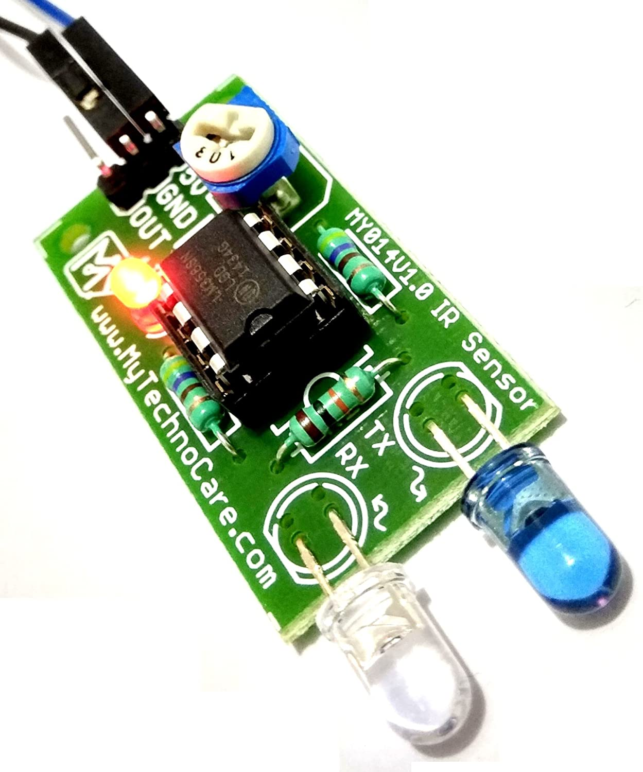 My Technocare Ir Sensor Infrared Proximity How To Make Robot 8051 Micro Controller Based Line Follower Obstacle Avoidance Detecting Following For Arduino Avr Pic Arm Microcontroller Electronics Project