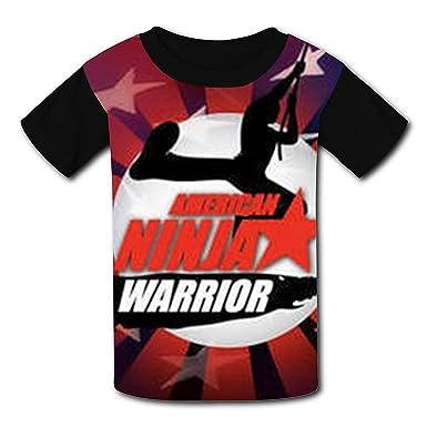 Amazon.com: CXSSS Children O Neck Polyester American Ninja ...