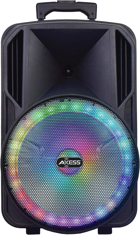 "Axess PABT6031 15"" Big Portable Bluetooth Speaker"