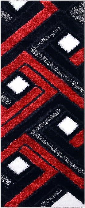 Amazon Com Royal Collection Black Red White Contemporary Design