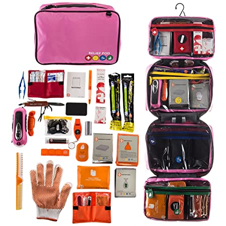 Relief Pod International Emergency Kit For Home Or Camping