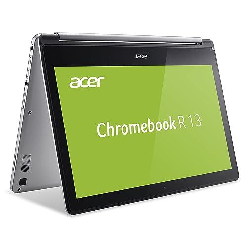 Acer Chromebook r13 2in1 convertible full hd ips touch display 4gb 32gb flash chrome os ordenador portátil Teclado Aleman QWERTZ