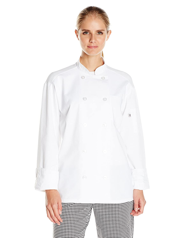 Uncommon Threads Women's Classic with Mesh Chef Coat 0426