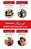 Harlequin Presents March 2018 - Box Set 1 of 2