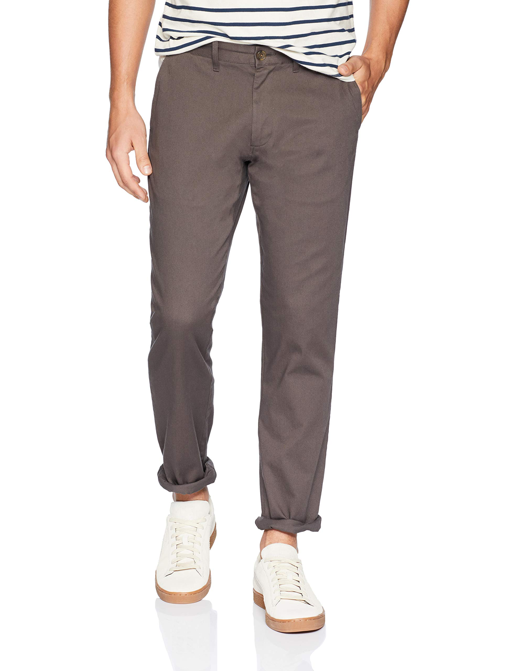 Men's Straight Fit Stretch Chino 4