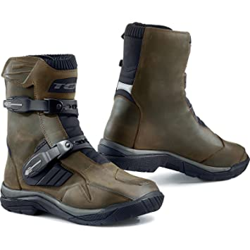 TCX Baja Mid Botas moteras o de aventura, impermeables, color marrón, 8000958115308,
