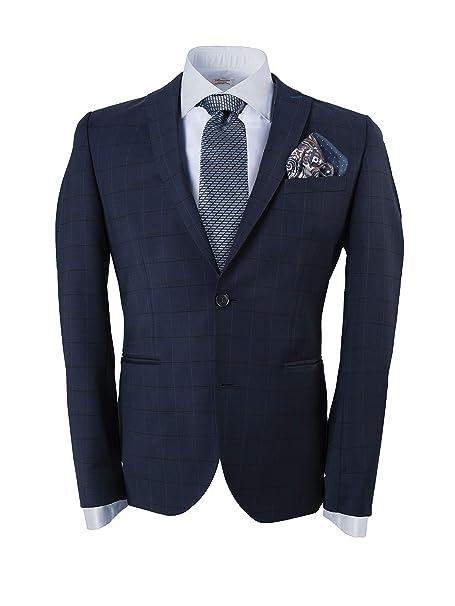 GENTSY Conjunto de corbata y pañuelo para hombre - K105/P16 ...
