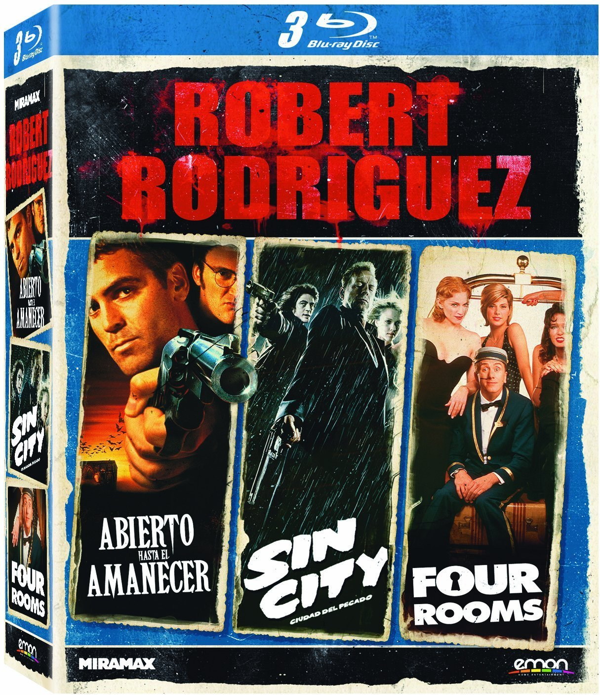 Pack Robert Rodriguez [Blu-ray]: Amazon.es: George Clooney ...