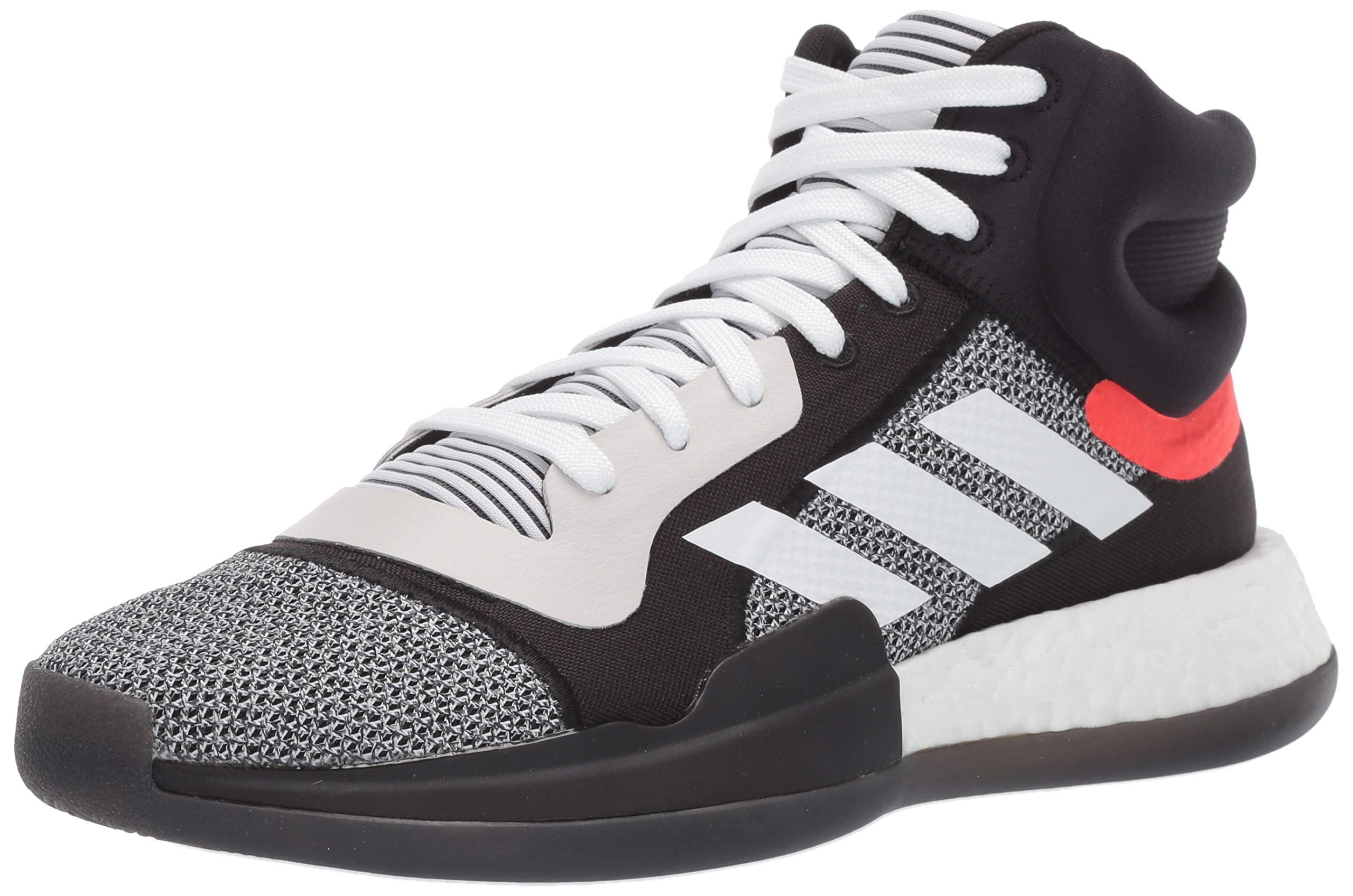 Galleon Adidas Men's Marquee Boost Low, WhiteBlackaero
