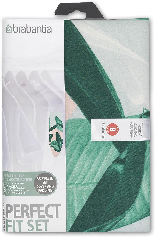 Brabantia Cover Fodera con Spugna Mollettone da 4 mm Tessuto 110x30 cm Morning Breeze