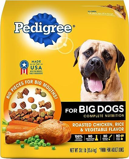 Amazon Com Pedigree Dry Food Pedigree Big Dogs Adult Complete