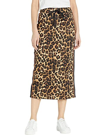 2ab81908e2 Juicy Couture Women s Leopard Tricot Midi Skirt
