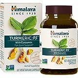 Himalaya Organic Turmeric Curcumin, 60 Vegetarian Capsules