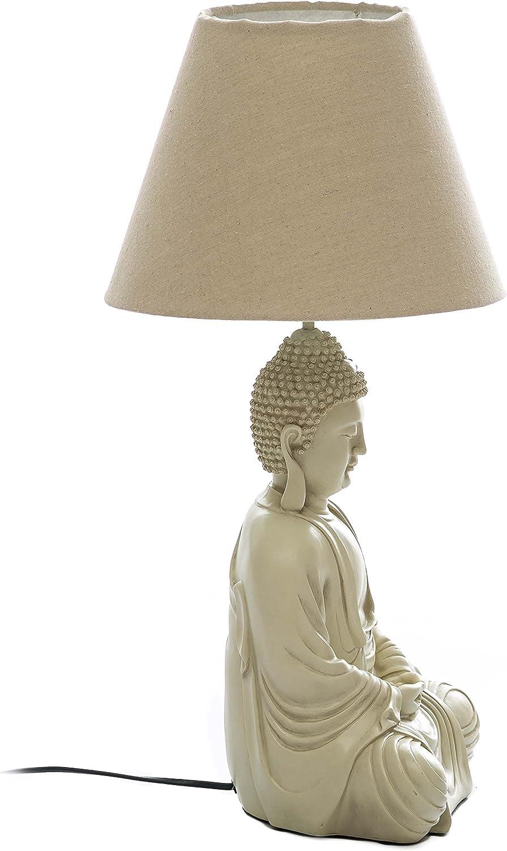 Lampe FENG SHUI LEUCHTE Chinoiserie  TISCHLAMPE BUDDHA FIGUREN Tischleuchte Yoga