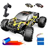 DEERC Brushless RC Cars 300E 60KM/H High Speed Remote Control Car 4WD 1:18 Scale Monster Truck for Kids Adults, All…