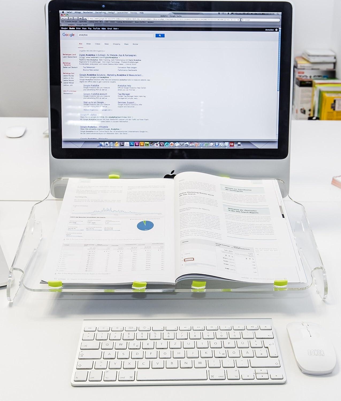 Multiboard, Dokumentenhalter, Laptop Ständer, Notebook Ständer, Dokumentenablage, Ergonomisch, Ergo Büro, Ergo Pult