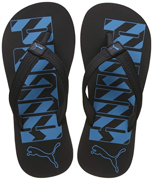 803d629fa0c6 Puma Unisex s Dark Shadow-Blue Atoll Flip Flops Thong Sandals-3 UK India