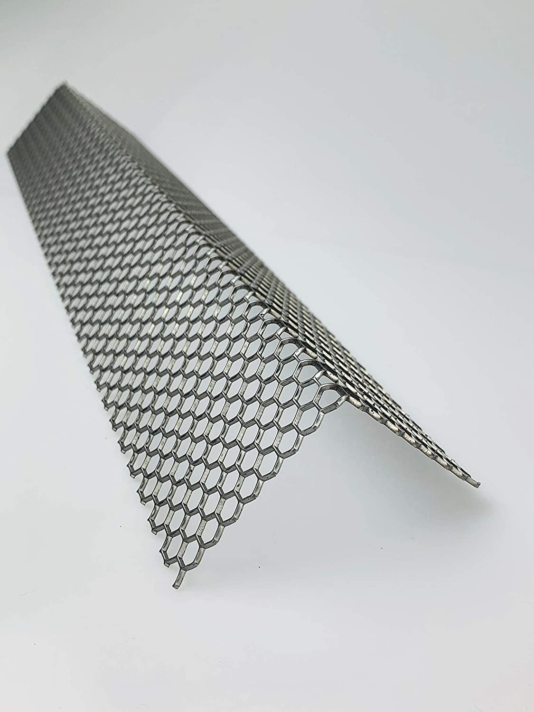 Lochblech Hexagonal Stahl Winkel HV 6-6,7 Winkelprofil 1,5mm L/änge 1000mm Individuell nach Ma/ß Schenkel: 20mm x 20mm