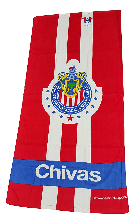 Amazon.com: Chivas de Guadalajara Beach Towel Made By Providencia (Chivas 2): Home & Kitchen