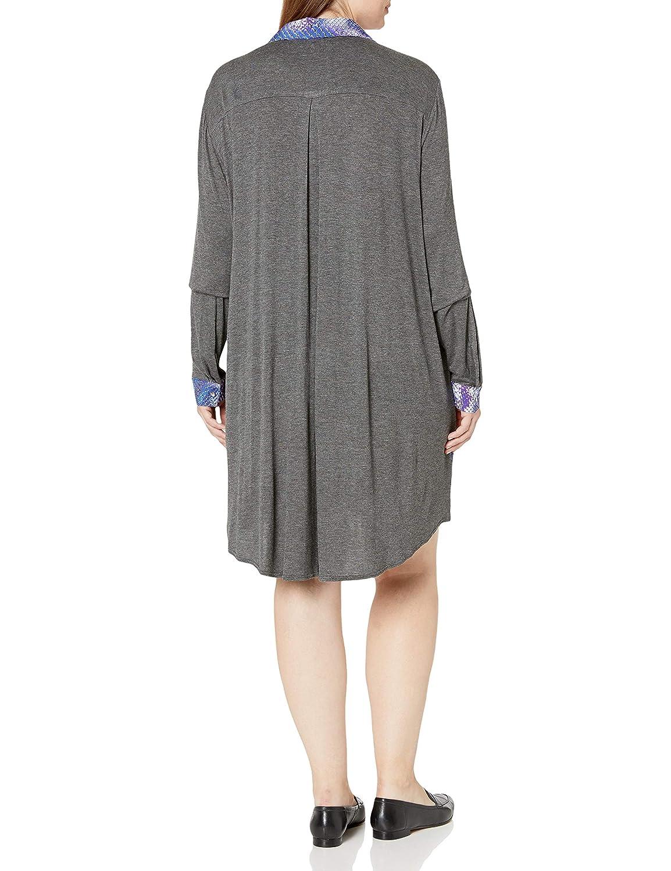 Single Dress Womens Plus Size Riley Shirtdress