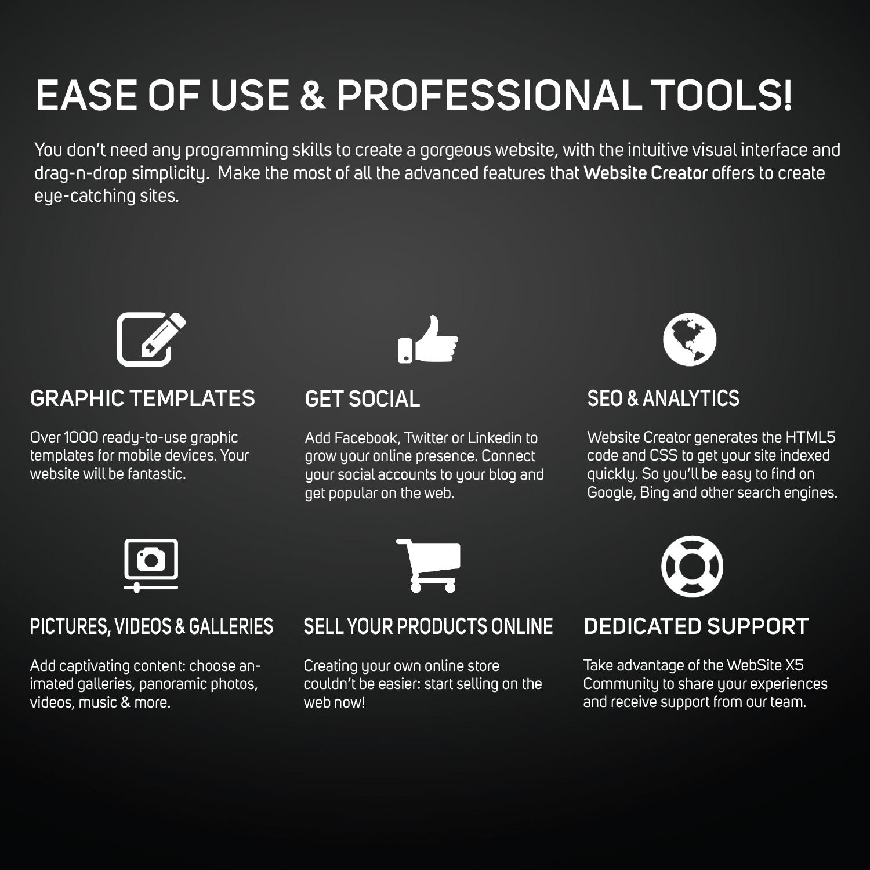 Amazon.com: Website Creator 12 [Download]: Software