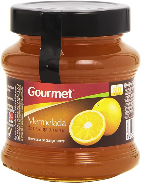 Gourmet - Mermelada de naranja amarga - 350 g: Amazon.es ...