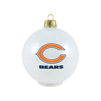 5e9df8ce6 Amazon.com   NFL Chicago Bears LED Color Changing Ball Ornament ...
