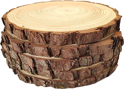 "8/"" Extra Large /& Thick Pine Wood Circle x 3//4/"" thick 9/"" 10/"" or 11/"" 7/"""