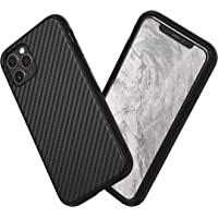 RhinoShield Case for iPhone 11 PRO SolidSuit - Shock Absorbent Slim Design Protective Cover with Premium Matte Finish 3.5M/11ft Drop Protection - Carbon Fiber-Black