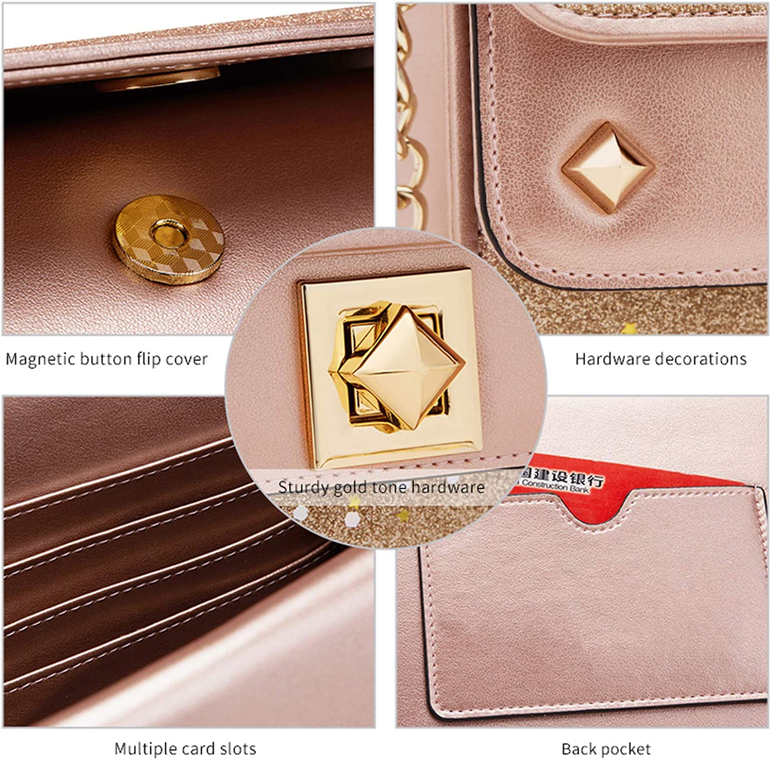 Women Shoulder Bag Leather Crossbody Bags For Female Fashion Messenger Bag Girls Mini Chain Bags Valentines Day gift