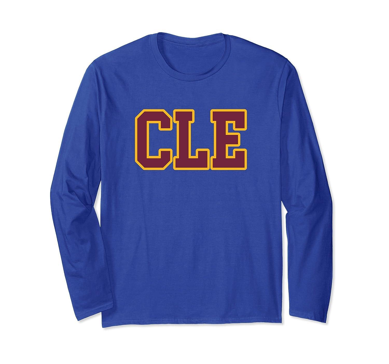 CLE - Cleveland Ohio Long-Sleeve Shirt-TH