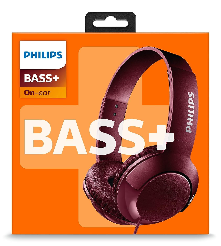 Philips Audio Shl3070Rd/00 Auriculares con Cable, X, Rojo: Amazon.es: Electrónica