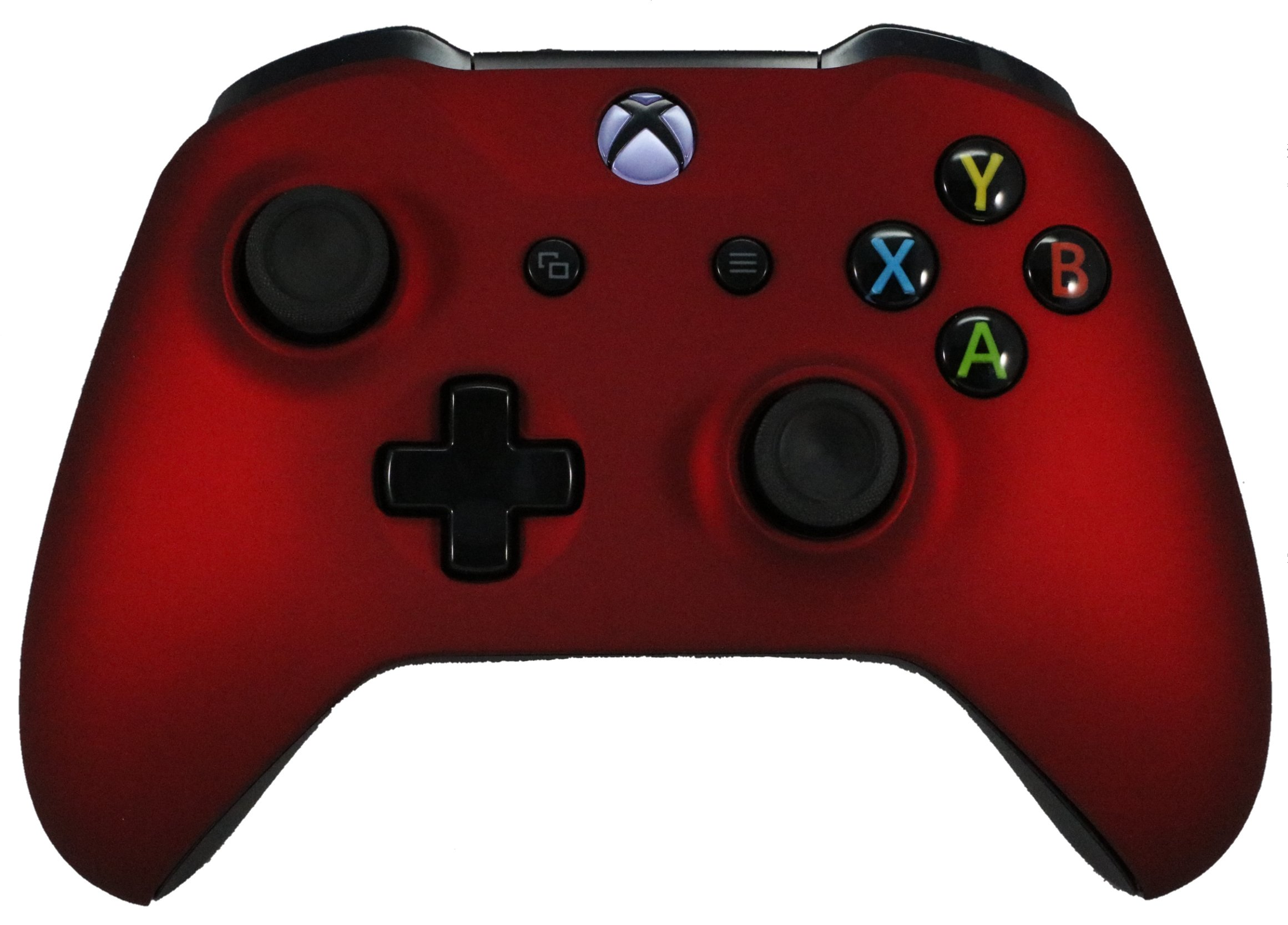 Xbox One Red Modded Rapid Fire Controller / Sniper Quick Scope / Drop Shot / Quick Aim / Zombies Auto Aim / Mimic / Burst / For Call of Duty / Modern Warfare / Black Ops / All Games / Soft Touch by Premium Controllerz (Image #1)