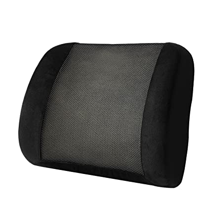 buy kosmocare memory foam lumbar support cushion for back pain rh amazon in Seat Cushions for Back Problems chair cushions for back problems amazon