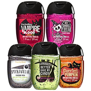 Amazoncom Bath And Body Works Halloween Faves 5 Pack Pocketbac