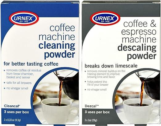 Amazon.com: Urnex Limpiador de máquina de café y espresso ...