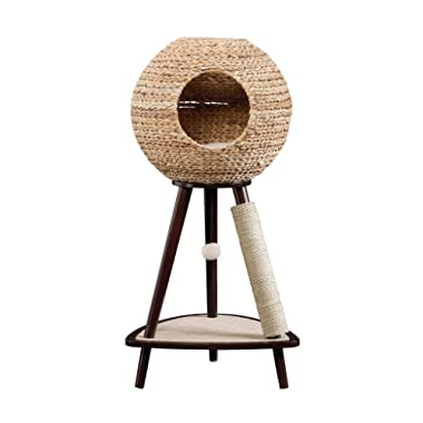 Sauder 774747 Natural Sphere Cat Tower