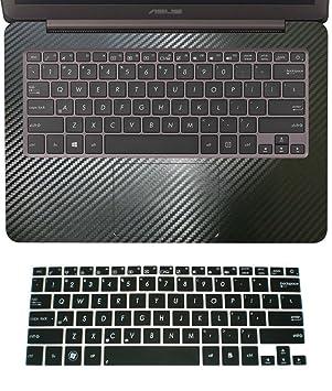 2 in1 muñeca PALMREST Reposamuñecas Skin con Trackpad Touchpad de silicona + Protector de teclado para Asus ZenBook UX305 de 13.3 UX305FA: Amazon.es: ...